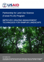 Improved Grazing Management Techniques for Rampur Landscape