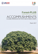Partnership for Land Use Science (Forest-PLUS) Accomplishments: Scalable Approaches for the Future of India's Forests
