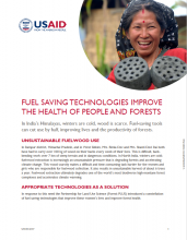 Fuel Saving Technologies Improve the Health of People and Forests