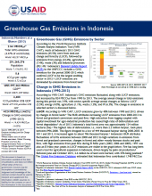 GHG Emissions Factsheet: Indonesia