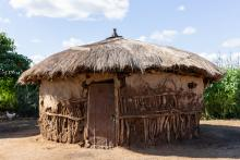 Tanzanian traditional hut