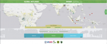 Global Wetlands Map