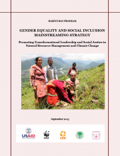 Gender Equality and Social Inclusion Mainstreaming Strategy: Promoting Transformational Leadership and Social Justice in Natural Resource Management and Climate Change