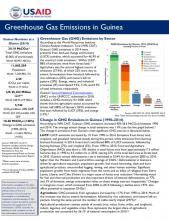 Greenhouse Gas Emissions Factsheet: Guinea cover