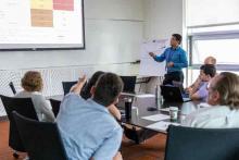 Hanzel  Cubangbang presenting NREL