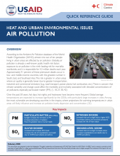 Heat and Urban Environmental Issues Air Pollution photo