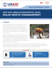Heat and Urban Environmental Issues: Solid Waste Management photo