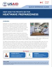 Heat and the Private Sector: Heatwave Preparedness photo