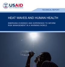 Heat Waves and Human Health cover