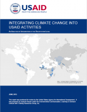 Integrating Climate Change into USAID Activities