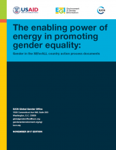 The Enabling Power of Energy in Promoting Gender Equality: Gender in the SEforAll Country Action Process Documents