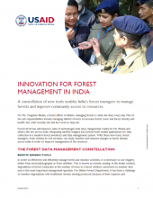 Innovation for Forest Management in India