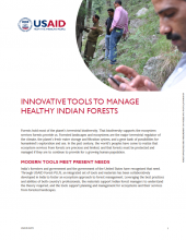 Innovative Tools to Manage Healthy Indian Forests