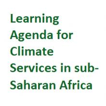 Learning Agenda for Climate Services in sub-Saharan Africa logo