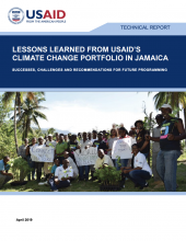 USAID Lessons Learned Jamaica portfolio