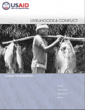 Livelihoods and conflict photo
