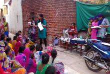 Mahila Housing Trust training photo