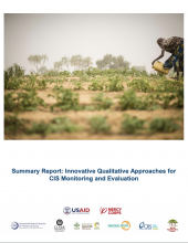 Mercy Corps Summary Report Cover
