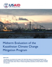 Midterm Evaluation of the Kazakhstan Climate Change Program