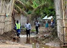 Mozambique mayors & flooding