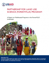 A Report on Multifaceted Programs in the Forest-PLUS Landscapes