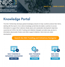 NDC partnership website