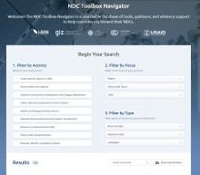 NDC toolbox navigator
