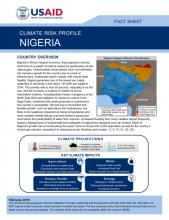 Nigeria Climate Risk Profile cover