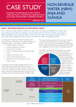 Case Study: Non-Revenue Water Jinja and Iganga