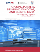 Opening Markets, Designing Windows, and Closing Gates: India's Power System Transition – Insights on Gate Closure Photo