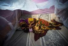 PMI Zanzibar Mosquito Net USAID Photo