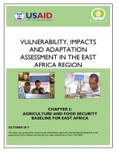 Vulnerability, Impacts and Adaptation Assessment in the East Africa Region: Agriculture and Food Security Baseline for East Africa
