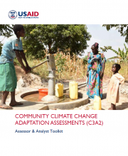 Community Climate Change Adaptation Assessments