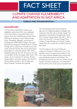 Climate Change Vulnerability and Adaptation in East Africa: Energy and Transportation