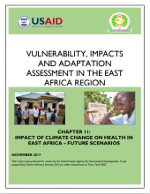 Vulnerability, Impacts and Adaptation Assessment in the East Africa Region: Impact of Climate Change on Health in East Africa - Future Scenarios