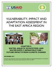 Vulnerability, Impacts and Adaptation Assessment in the East Africa Region: Water, Aquatic Ecosystems, and Water Supply Infrastructure - Future Impacts from Climate Change