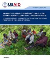 Pathways to Peace Horn of Africa cover image
