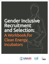 Photo Gender Inclusive Recruitment and Selection: A Workbook for Clean Energy Incubators