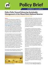 Policy Paths Toward Enhancing Sustainable Management of the Masai Mara National Reserve