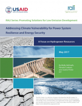 Addressing Climate Vulnerability for Power System Resilience and Energy Security: A Focus on Hydropower Resources