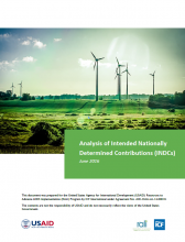 Analysis of Intended Nationally Determined Contributions (INDCs)