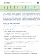 REMMP Impact Factsheet