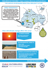 Case Study: Ideas for a Resilient Future in the Limpopo River Basin - Upper Limpopo