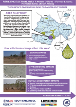 Case Study: Ideas for a Resilient Future in the Limpopo River Basin - Middle Olifants