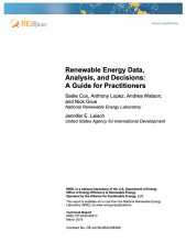 Renewable Energy Data, Analysis and Decisions: A Guide for Practitioners Photo