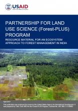 Resource Material for an Ecosystem Approach to Forest Management in India