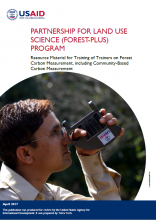 Resource Material for Training of Trainers on Forest Carbon Measurement, Including Community-Based Carbon Measurement