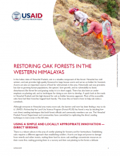 Restoring Oak Forests in the Western Himalayas