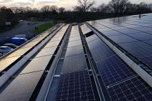 Rooftop solar PV installations