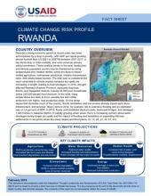 Rwanda Climate Risk Profile cover
